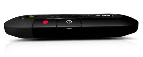 supertooth buddy bluetooth visor speakerphone car kit black gadgets nouvelle g n ration. Black Bedroom Furniture Sets. Home Design Ideas