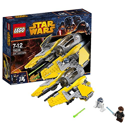 Intercepteur jedi lego star wars 75038 gadgets nouvelle g n ration - Vaisseau star wars anakin ...