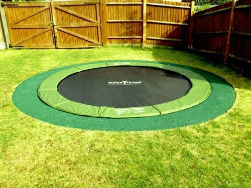 trampoline encastré